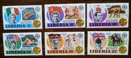 LIBERIA - YT N°587 à 592 - Jeux Olympiques De Munich / Sports - 1973 - Neufs