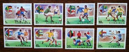 LIBERIA - YT N°645 à 652 - Coupe Du Monde De Football, Munich / Sports - 1974 - Neufs