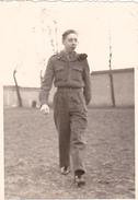 26077  Photo -regiment Belge 5 Ieme Genie Westhoven -  Belgique - Occupation Allemagne Cologne Koln - Guerre, Militaire