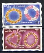 WF 1979 Serie N. 241-242 Collane MNH Cat. € 10,40 - Wallis E Futuna