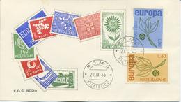 ITALIA - FDC RODIA 1965 - EUROPA UNITA - CEPT