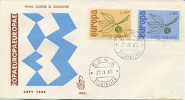 ITALIA - FDC VENETIA 1965 - EUROPA UNITA - CEPT
