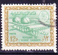 Saudi Arabien - Öl-Scheideanlage In Ain Dair (MiNr: 308) 1966 - Gest Used Obl