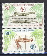 WF 1979 Serie N. 243-244 Sport MNH Cat. € 5,30 - Wallis E Futuna