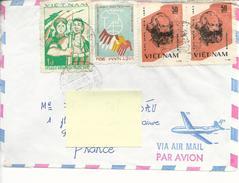 De Hanoï Timbres 462x2, 469G...2 Scans Recto Verso