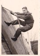 26078  Photo -regiment Belge 5 Ieme Genie Westhoven -  Belgique - Occupation Allemagne Cologne Koln- Sport