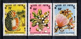 WF 1979 Serie N. 2238-240 Fiori MNH Cat. € 6,20 - Wallis E Futuna
