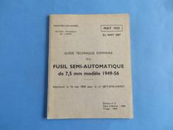 Guide Technique Du F.S.A. Mle 1949-56 - Documenti