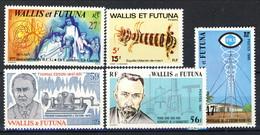 WF 1980-81 Piccolo Lotto Di 5 Valori MNH Gomma Integra Cat. € 9.20 - Wallis E Futuna