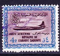 Saudi Arabien - Flugzeug Vom Typ Convair 440 (MiNr: 106) 1960 - Gest Used Obl