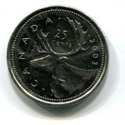 2003 Canada 25c Coin - Canada