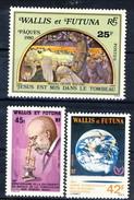 WF 1980-82 Piccolo Lotto Di Tre Valori MNH Cat. € 5,95 - Wallis E Futuna