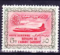 Saudi Arabien - Flugzeug Vom Typ Convair 440 (MiNr: 107) 1960 - Gest Used Obl