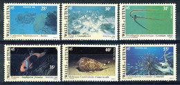 WF 1981 Serie N. 267-272 Fauna Marina MNH Cat. € 11 - Wallis E Futuna