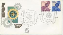 ITALIA - FDC PEGASO 1967 - EUROPA UNITA - CEPT