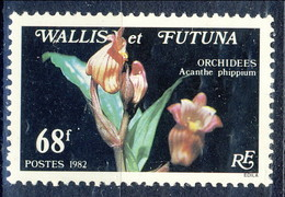 WF 1982 N. 287 Orchidee MNH Cat. € 2.40 - Wallis E Futuna