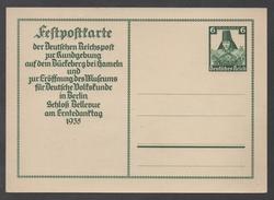 III REICH - ALLEMAGNE / 1935 ENTIER POSTAL DE PROPAGANDE (ref LE1042)