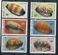 WF 1982 Serie N. 291-296 Conchiglie MNH Cat. € 5,60 - Wallis E Futuna