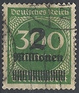 Germania -  1923 Cifra 2Mn Su 300m # Michel 310A - Scott 270 - Unificato 282 - Usato