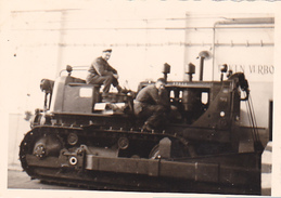 26085  Photo -regiment Belge 5 Ieme Genie Westhoven -  Belgique - Allemagne Cologne Koln- Bulldozer
