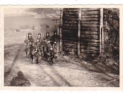 26087  Photo -regiment Belge 5 Ieme Genie Westhoven -  Belgique - Allemagne Cologne Koln- Manoeuvre