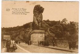 Barrage  De La Gileppe, Le Lion Et Le Pont (pk32686) - Gileppe (Stuwdam)