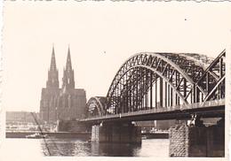 26092 Photo -regiment Belge 5 Ieme Genie Westhoven -  Belgique - Allemagne Cologne Koln- Cathedrale - Lieux