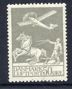 DENMARK 1929 Airmail 50 Øre LHM / * .  Michel 180 - 1913-47 (Christian X)