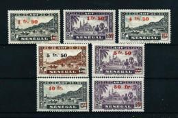 Senegal (Francés)  Nº Yvert  189/95  En Nuevo*