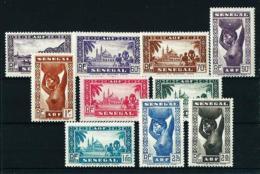 Senegal (Francés)  Nº Yvert  160/9  En Nuevo*