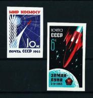 Rusia  Nº Yvert  2650a Y 2651a SIN DENTAR  En Nuevo - 1923-1991 URSS