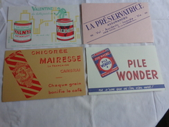 4 Buvards -chicoree Mairesse-valentine-assurance-wonder - Chaussures