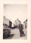 26094 Photo -regiment Belge 5 Ieme Genie Westhoven -  Belgique - Allemagne Cologne Koln- Village à Identifier