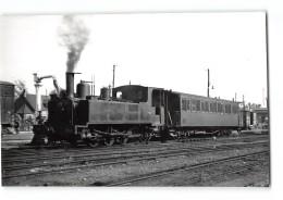 Photo Laurent? Format CPA Noyelles Sur Mer La Gare Et Le Train Tramway Ligne De Noyelles Cayeux - Noyelles-sur-Mer
