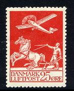 DENMARK 1925 Airmail 25 Øre. LHM / * .  Michel 145 - 1913-47 (Christian X)