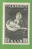 MiNr.309 X Deutschland Saarland (1946-1956) - Unused Stamps