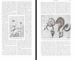 LES ORIGINES DE L'EVENTAIL Et Sa FABRICATION  1892 - Eventails