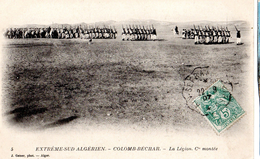 Légion étrangère, Extréme Sud Algérien, Colomb Béchar, Compagnie Montée - Militaria