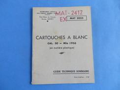 Guide Technique De La Cartouche à Blanc - Documents