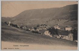 Travers - Vue Generale - Phototypie No. 4789 - NE Neuchatel