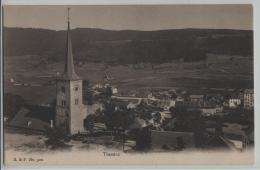 Travers - Vue Generale - Photo: Franco-Suisse No. 320 - NE Neuchatel