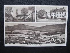AL MARKT SANKT MARTIN C.1920   /// D*22637 - Österreich