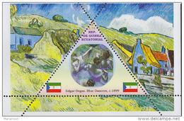 Impressionists Edgar Degas  1  Sheet   TRIANGULAR STAMP LIMITED EDITION Mint   CINDERELLA - Impressionisme