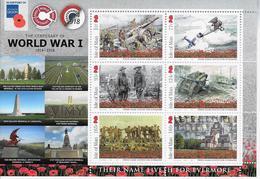 Wo 1 Somme In Mapje - Isla De Man