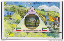 Impressionists Alfred Sisley   1  Sheet   TRIANGULAR STAMP LIMITED EDITION Mint   CINDERELLA - Impressionisme