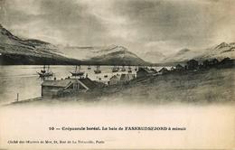 La Baie De Faskrudsfjord - Islande Island - Belle Animation