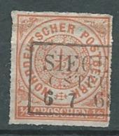Confédération De L'allemagne Du Nord    - Yvert N° 4 Oblitéré    - Cw 23904 - Norddeutscher Postbezirk