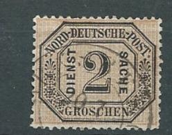 Confédération De L'allemagne Du Nord - Service    - Yvert N° 5  Oblitéré  - Cw 23914 - North German Conf.