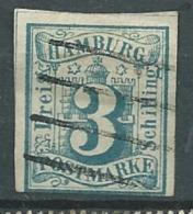 Hambourg     - Yvert N° 4  Oblitéré  Au Filet à La Base - Cw 23931