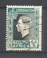 Sud Africa 1937 Coronation Of King George VI       USED - South Africa (...-1961)
